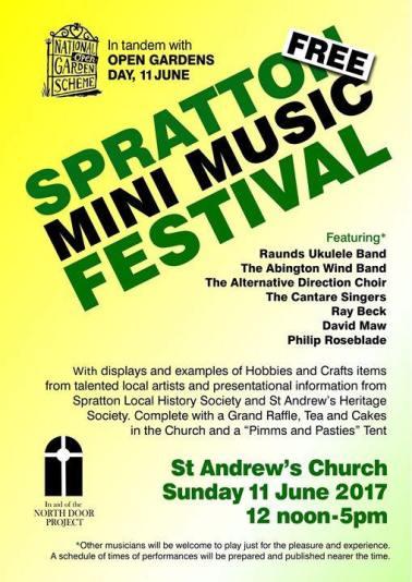 Spratton Church 2017