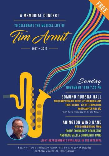 Tim Armit Memorial 2017